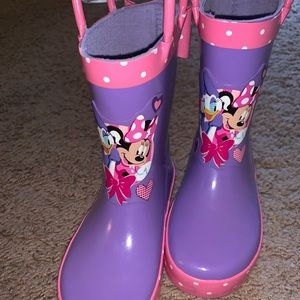NWT Mickey Mouse Rain Boots